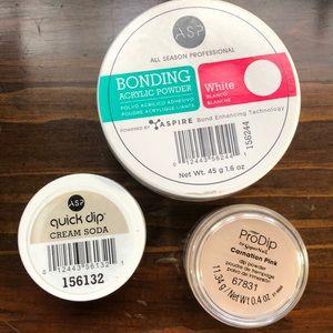 Quick Dip & Bonding powder 💅🏻